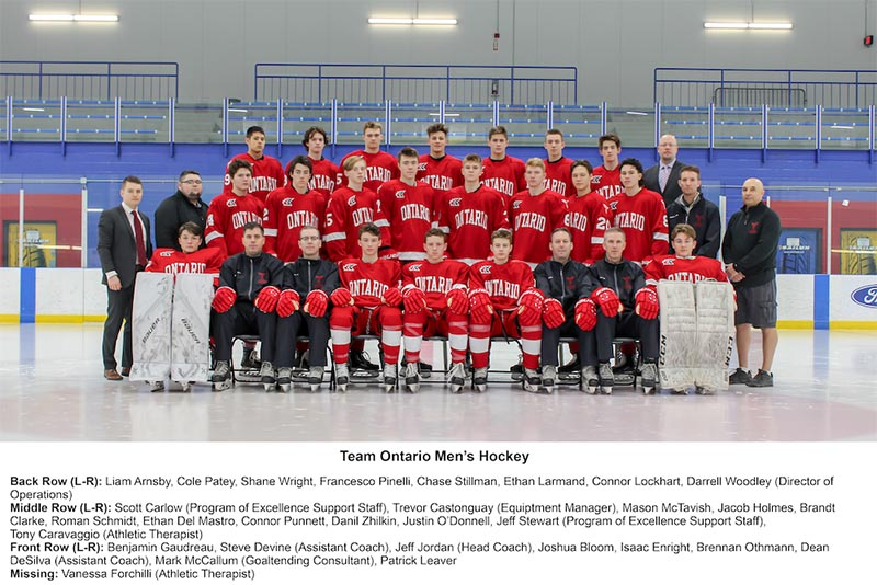 Ontario Men's Hockey Team