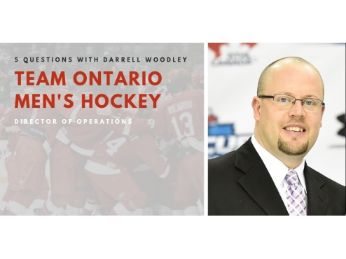 5 Questions with the Director of Operations for Team Ontario Men's Hockey