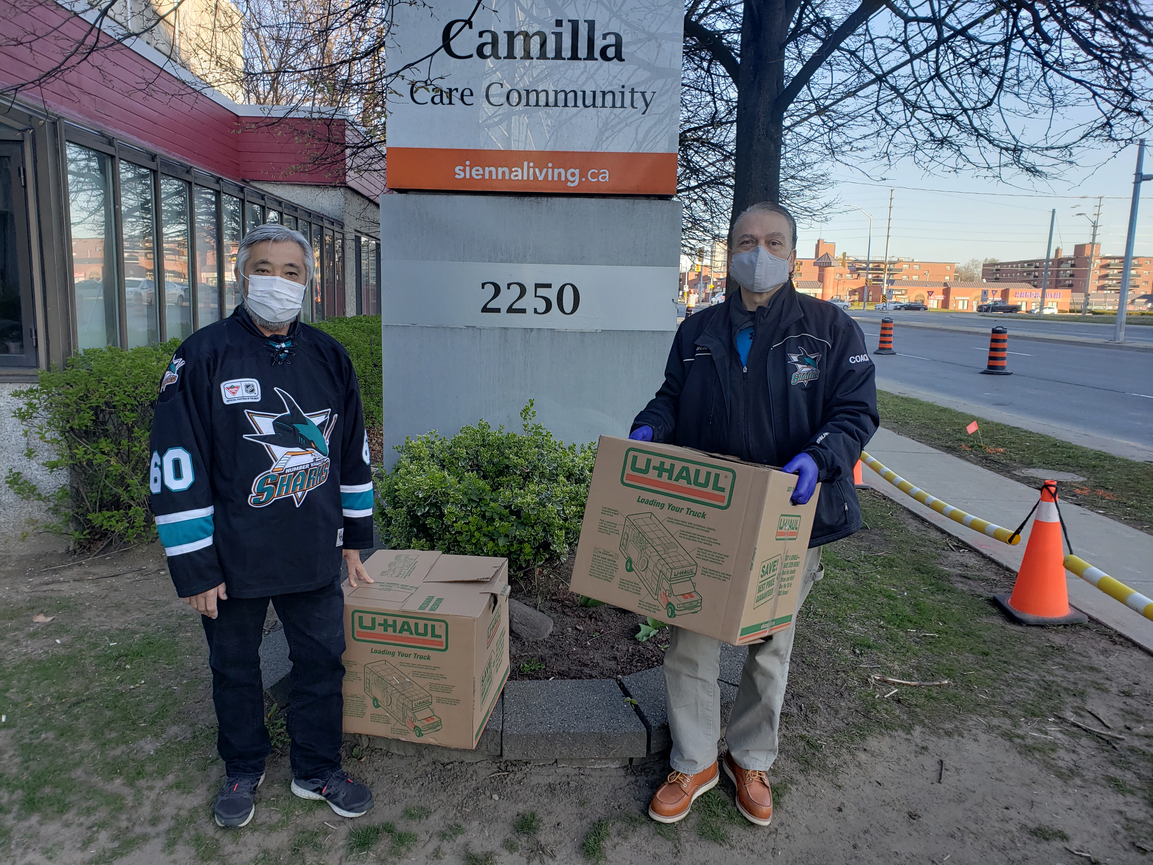 Humber Valley Sharks Donate $30,000 to Various Community Based Organizations