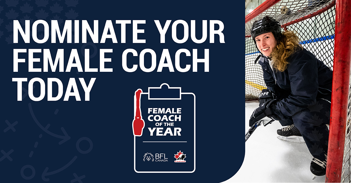 BFL Female Coach of the Year nominations