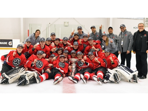 Team GTHL Red wins OHL Gold Cup