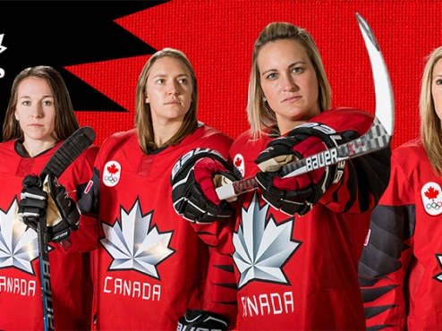 POULIN TO CAPTAIN CANADIAN WOMEN'S HOCKEY TEAM AT 2018 OLYMPIC WINTER GAMES