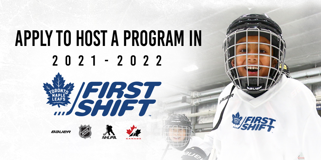 Apply now to host the NHL/NHLPA First Shift
