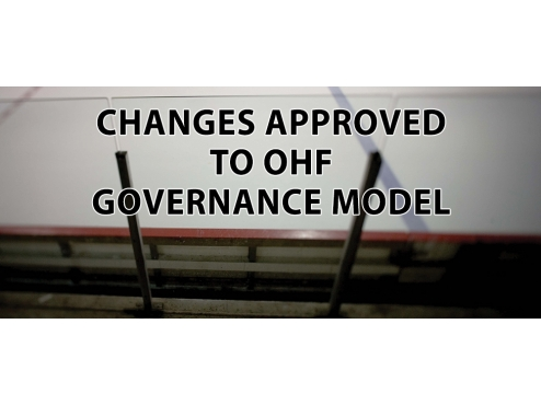 CHANGES APPROVED TO OHF GOVERNANCE MODEL