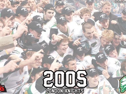 2005 London Knights voted Canadian Hockey League Team of the