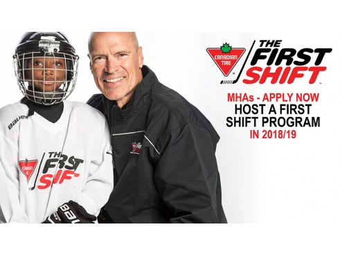 APPLY TO HOST A CANADIAN TIRE FIRST SHIFT PROGRAM