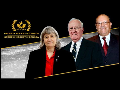 OWHA President Fran Rider named to order of hockey in Canada